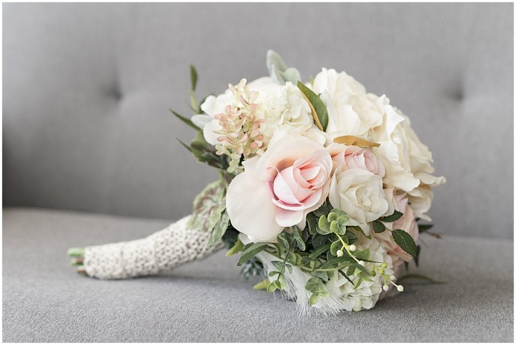 Bouquet for County Line Orchard Wedding in Hobart, Indiana