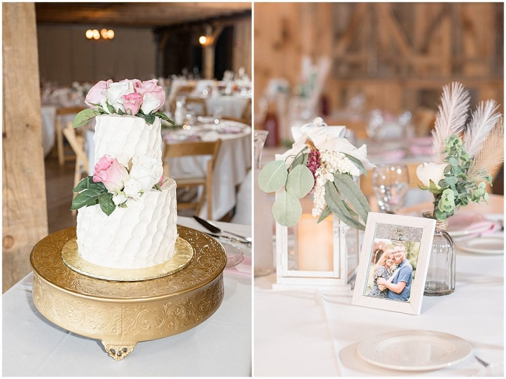 County Line Orchard wedding reception in Hobart, Indiana