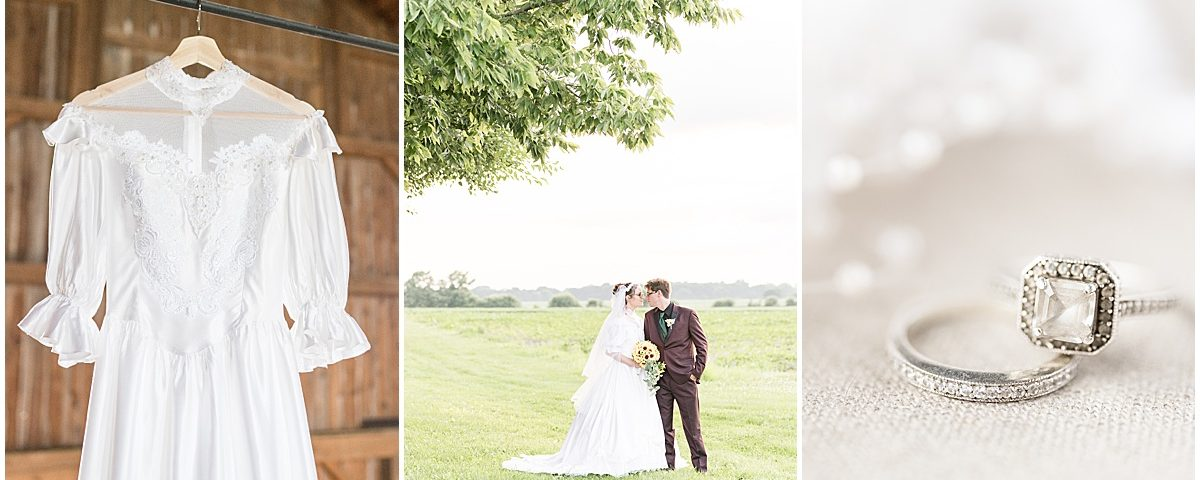 Wedding details from Exploration Acres wedding in Lafayette, Indiana