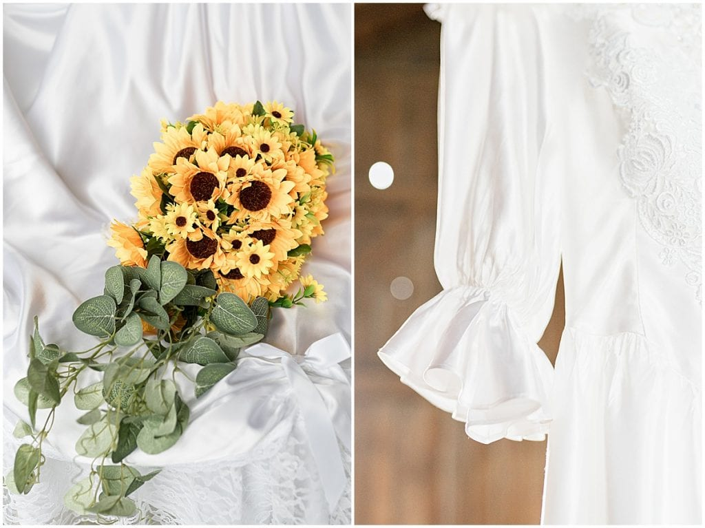 Bridal details for Exploration Acres wedding in Lafayette, Indiana