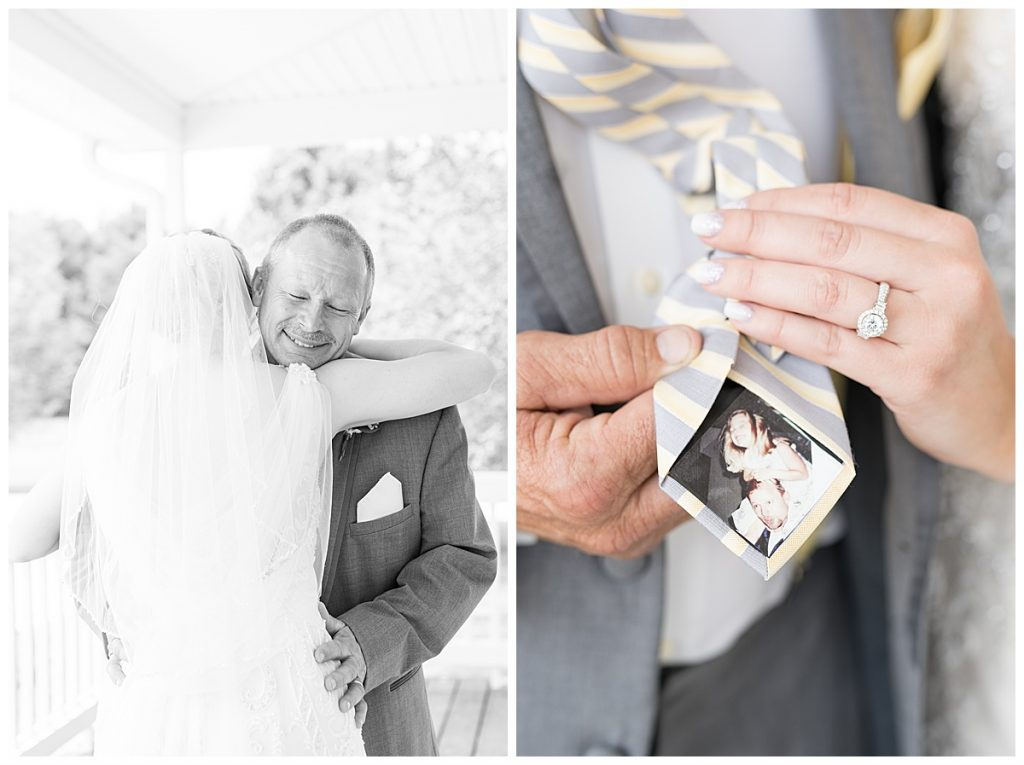 Father of the bride wedding details