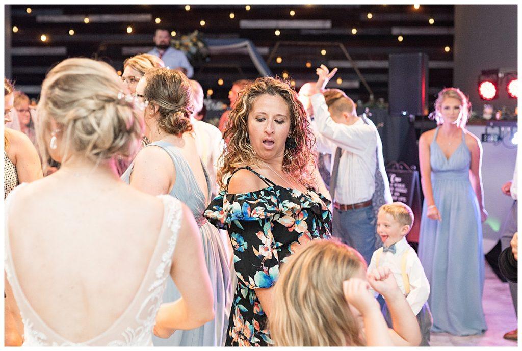 Gathering Acres wedding reception in Lafayette, Indiana