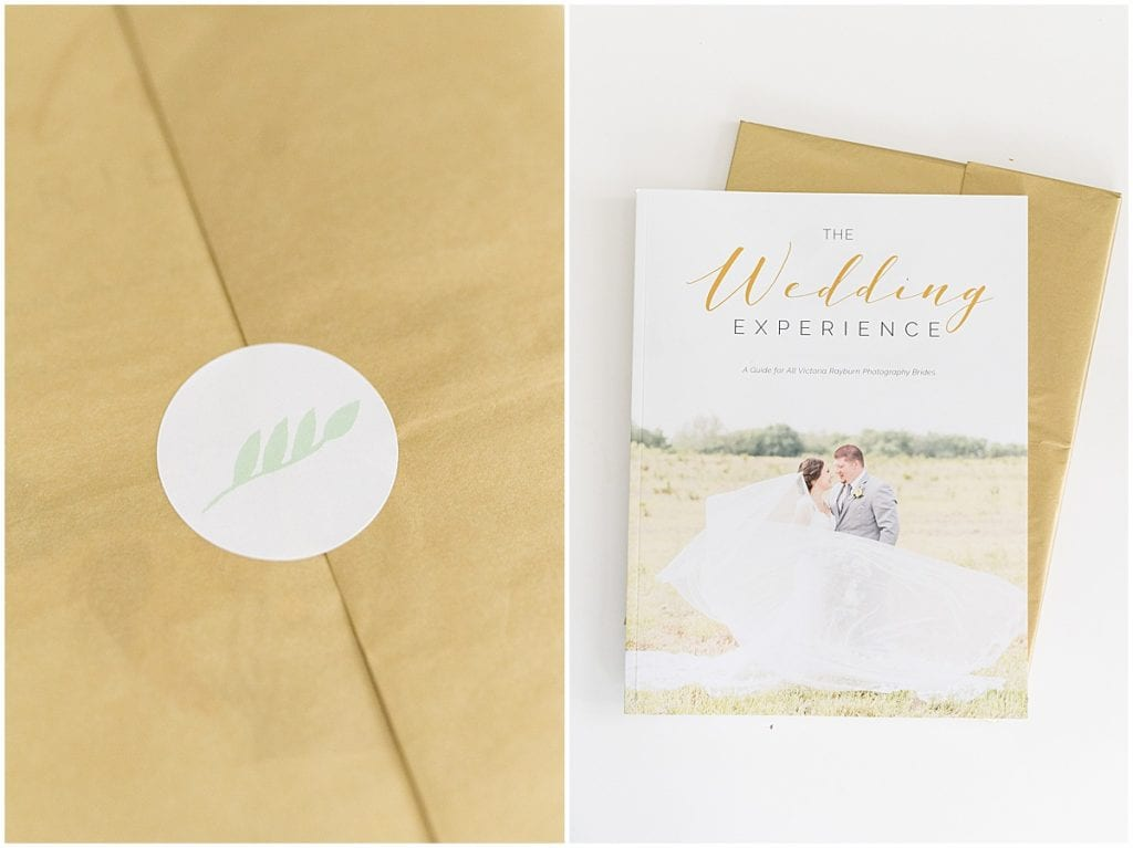 Bridal guide included in Victoria Rayburn Photography's client welcome gift