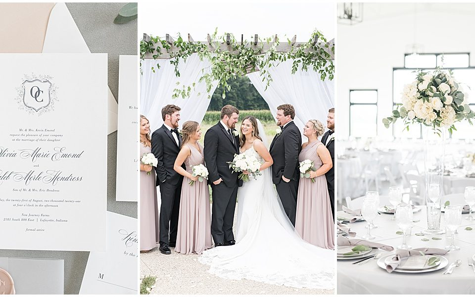 New Journey Farms wedding in Lafayette, Indiana by Victoria Rayburn Photography