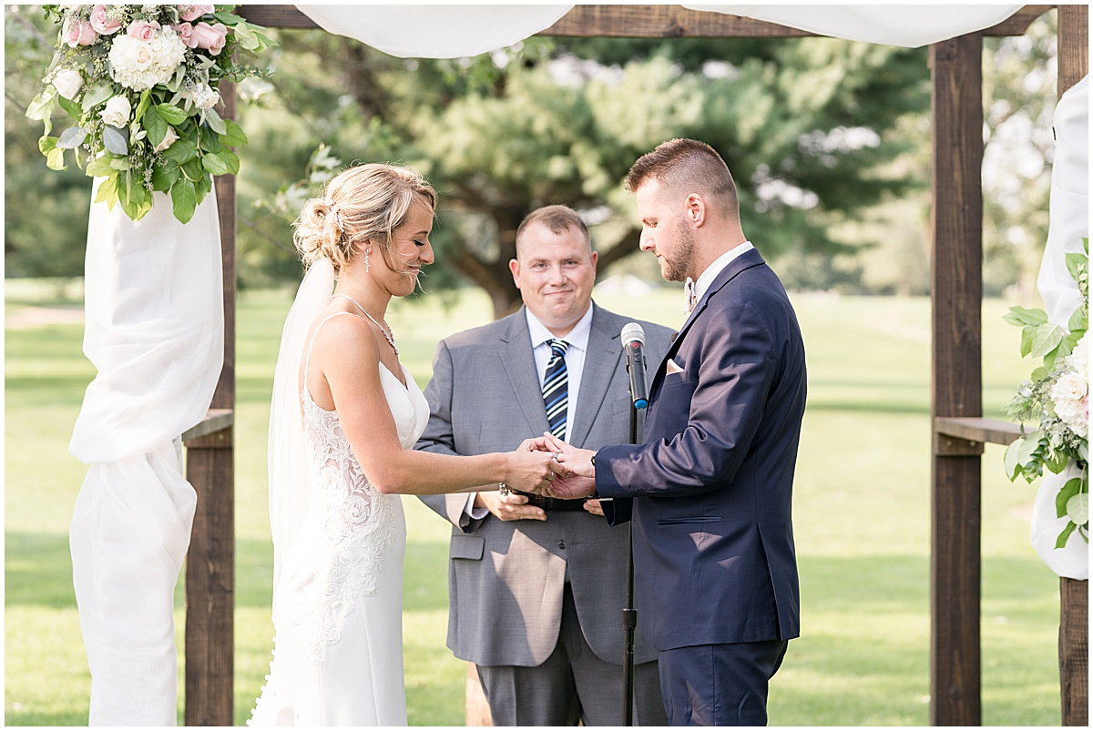 Wedding at The Edge in Anderson, Indiana