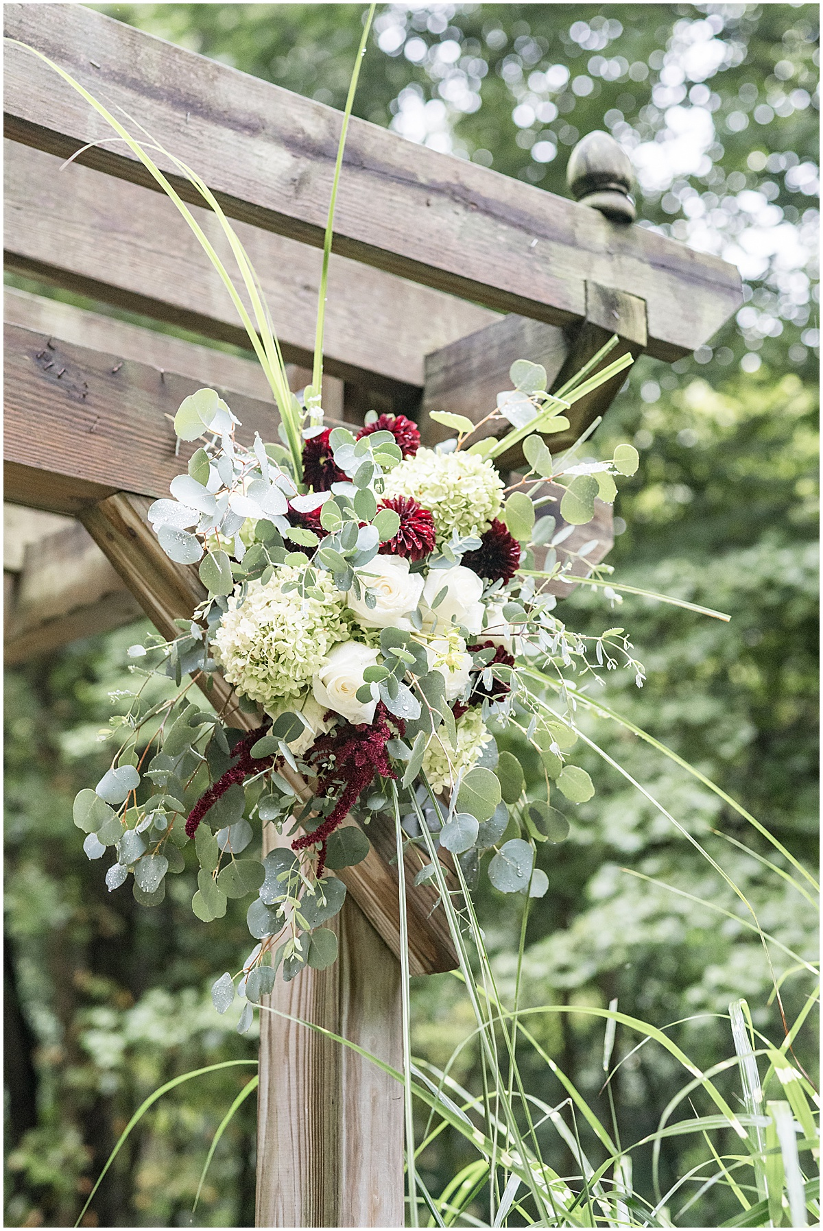 Details of Wildcat Conservation Club wedding in Mulberry, Indiana