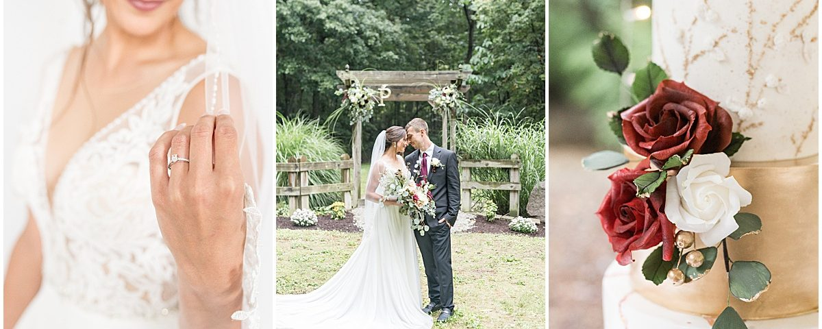 Wildcat Conservation Club wedding in Mulberry, Indiana