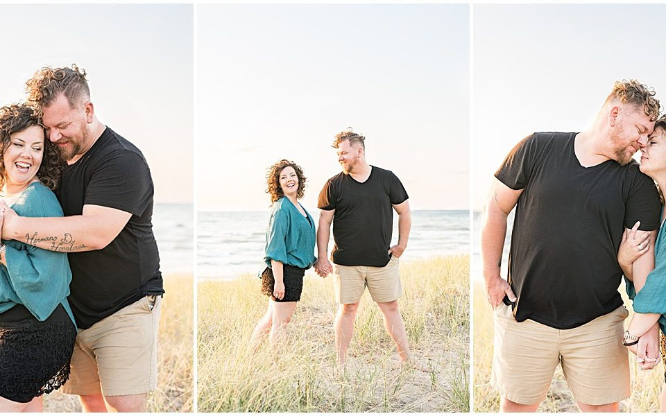 Couple photos at Tabor Hill Winery in Michigan by Victoria Rayburn Photography