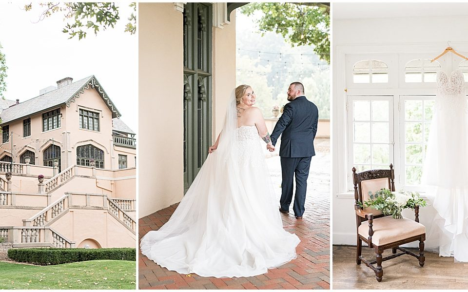Fowler House Mansion wedding in Lafayette, Indiana by Victoria Rayburn Photography